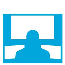 centro de monitoreo icono